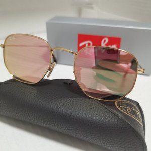 Ray-Ban 3548 Pink Sunglasses 54mm